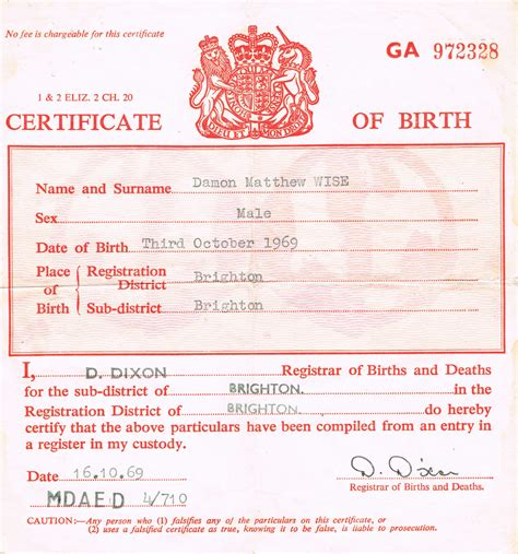 uk birth certificate template template birth certificate prize voucher template