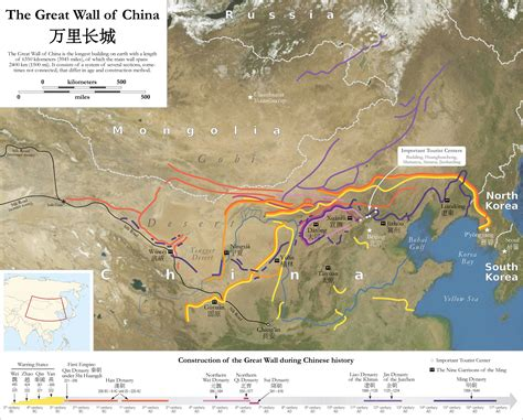 Trump China North Korea by File Map Of The Great Wall Of China Jpg