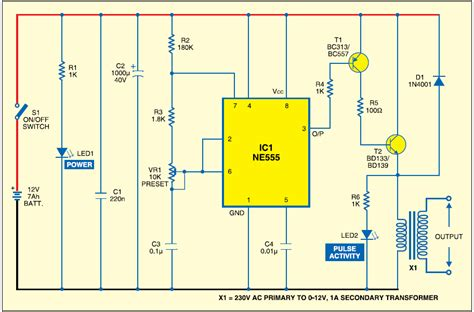 diy electrical engineering projects diagram of fence wiring diagram