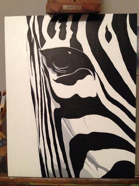 zebra paint 25 best ideas about zebra painting on zebra