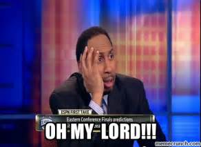 Stephen A Smith Memes - oh my lord
