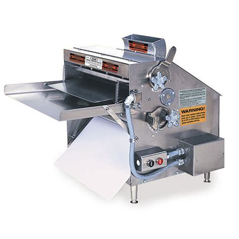 acme mrs20 pizza dough roller bench 3 rollers