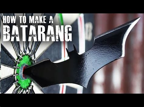 How To Make A Paper Batarang - how to make a batarang like quot the quot ytpak