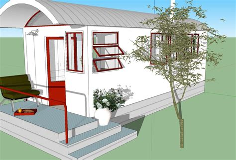 260 sq ft no loft tiny house design