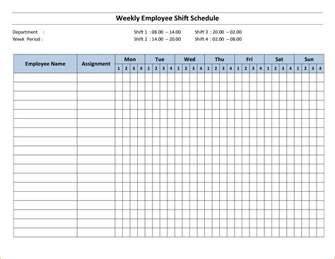 3 week schedule template teknoswitch