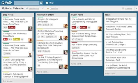 How To See Calendar How To Create An Editorial Calendar Using Trello And Why