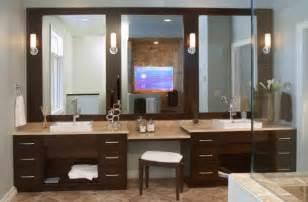 Bathroom Mirrors Ideas With Vanity modern bathroom vanity design with stunning use of mirrors and