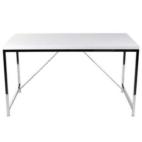 white and chrome desk chrome office desk ledah leather desk white chrome