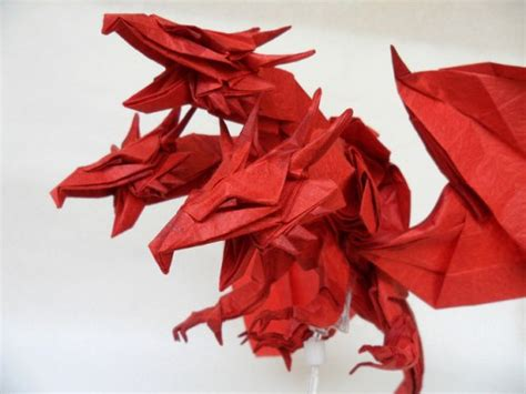 Three Headed Origami - 10 more amazing origami dragons epic fail