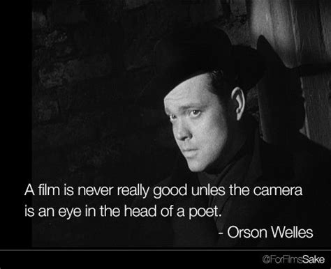 film quotes from directors orson welles film director and film on pinterest