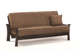 size futon deco lounger size java futon set by j m furniture
