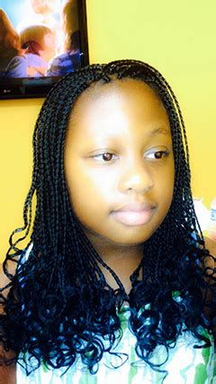 box braids for teen box braids extensions with curly ends great look for a