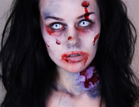 tutorial zombie halloween easy halloween zombie makeup tutorial halloween costume