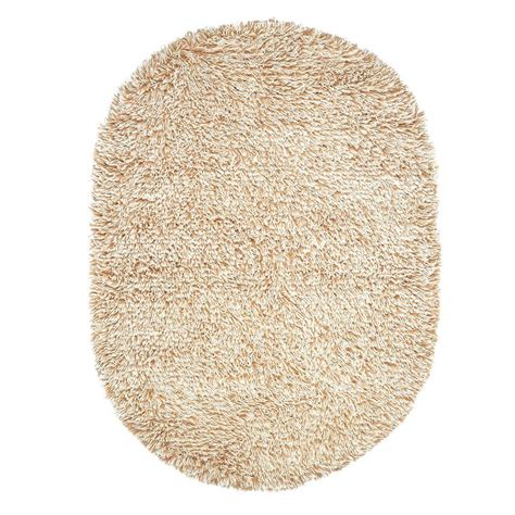 ultimate shag rug home decorators collection ultimate shag oatmeal 5 ft x 7 ft oval area rug 7575490840 the