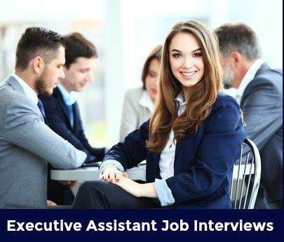 five most common interview questions executive pa secretarial