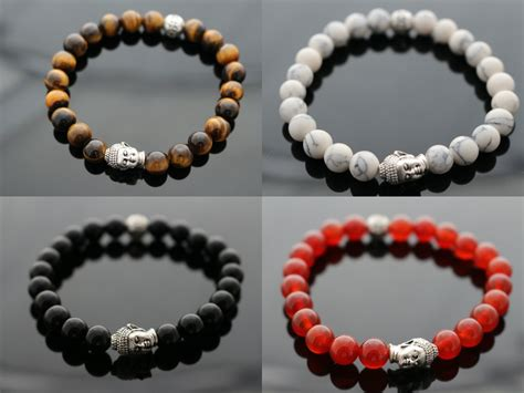 beaded bracelets buddha mens bracelet beaded bracelet unisex bracelet with