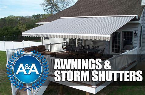 storm awnings awnings storm shutters aa awnings virginia beach va