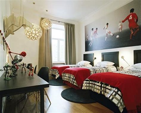 soccer bedroom ideas 15 awesome kids soccer bedrooms home design and interior