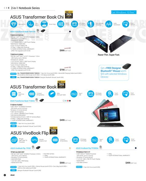 Singapore Product Guide asus product guide pg 04 brochures from pc show 2016