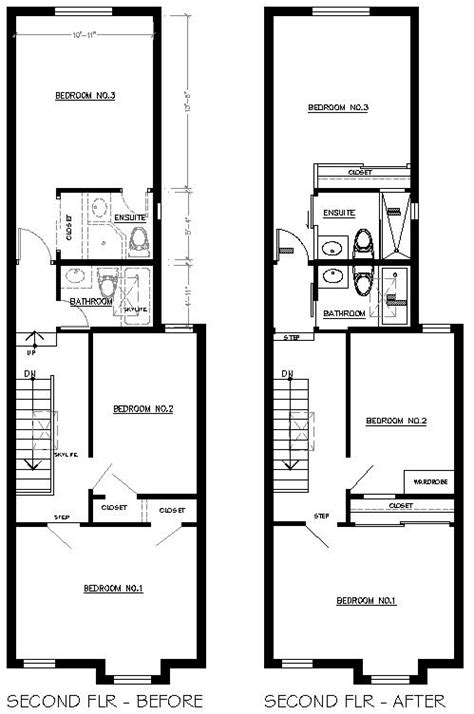 row houses plan rowhouse floor plans 171 unique house plans