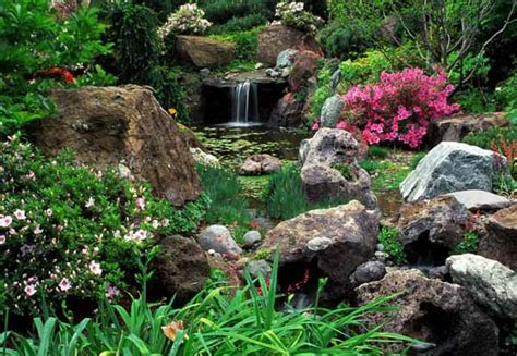 Rock Garden Pond 21 Garden Design Ideas Small Ponds Turning Your Backyard Landscaping Into Tranquil Retreats