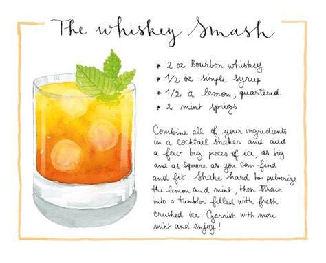 signature cocktail raspberry bourbon smash nomnoms signature cocktail whiskey smash cocktail recipes cocktails cocktail recipes whiskey smash
