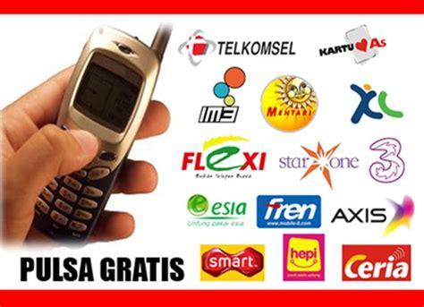 Ww Pulsa 10 Ribu Semua Operator cara mudah mendapatkan pulsa 100 ribu gratis tkj