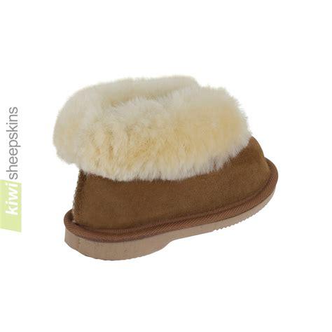 sheepskin slippers childrens bootie style slippers sheepskin slippers