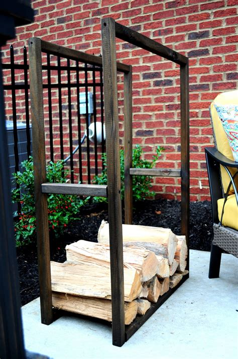 diy firewood rack storage ideas