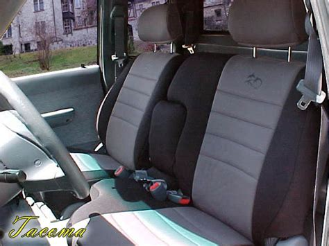 toyota tacoma bench seat toyota tacoma full piping seat covers rear seats wet