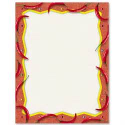 Design Your Own Home Western Australia mexican fiesta border papers paperdirect