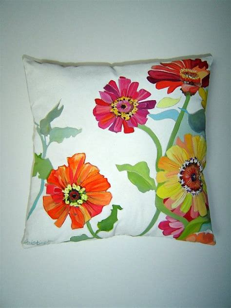 Painted Pillows by 17 Best Images About Painted Pillows And Floorcloths On