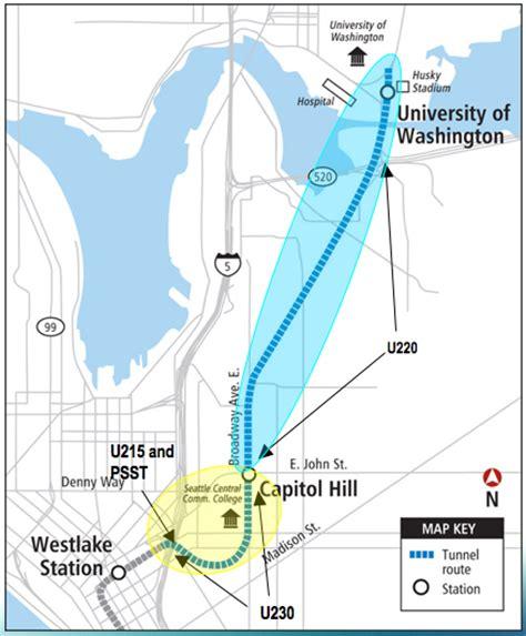 seattle underground map seattle lrt