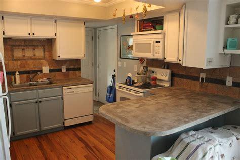 diy concrete kitchen countertops ideas diy concrete