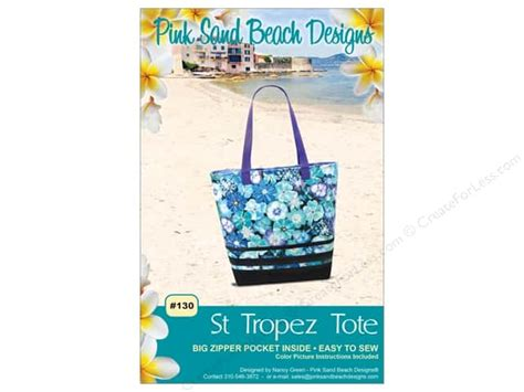 St Tropez Tote by Pink Sand Designs St Tropez Tote Pattern