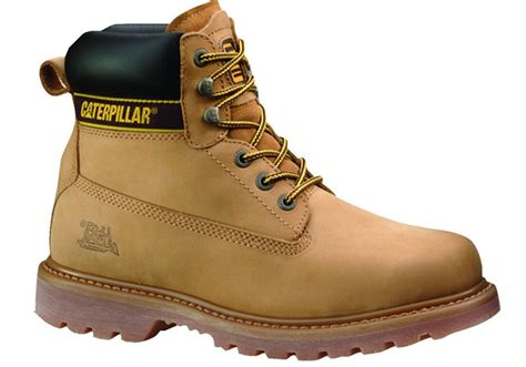 Sepatu Boots Safety Caterpilar Holton Steel Toe 4 new caterpillar cat holton steel toe mens work boots ebay