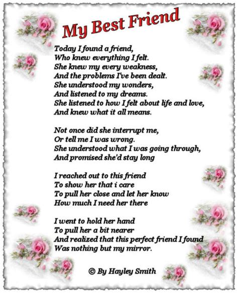 poems for your best friend xolanura poems for my best friend