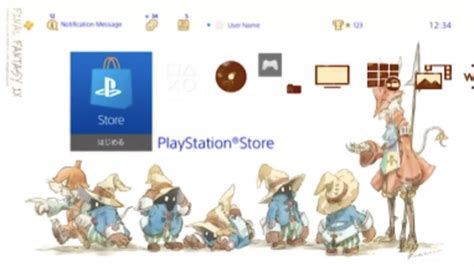 ps4 themes final fantasy updated final fantasy ix releases on playstation 4 along