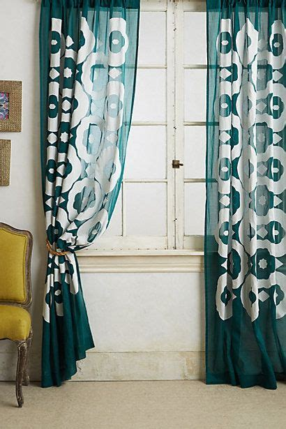 deep turquoise curtains 1000 ideas about turquoise curtains on pinterest