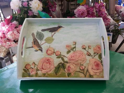 Decoupage Wood - decoupage tutorials