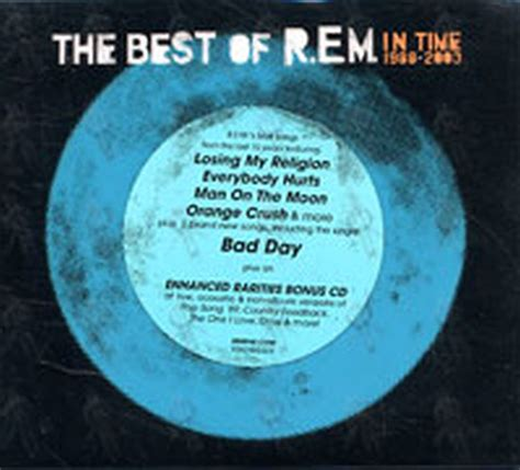 the best of rem album rem in time the best of r e m 1988 2003 album cd