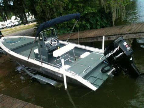 aluminum bay boats for sale sold 2012 high performance welded aluminum bay boat