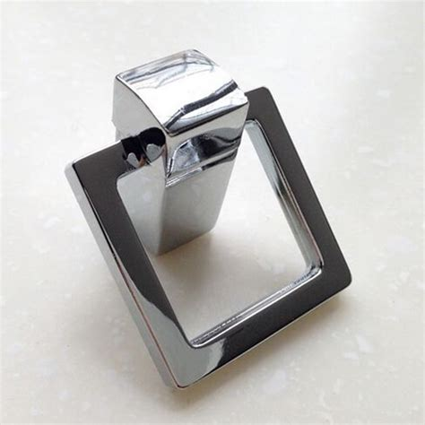 get cheap square chrome cabinet knobs aliexpress