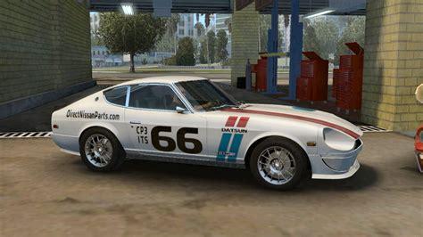 66 nissan auto parts 280z mcla camaro club t a racing