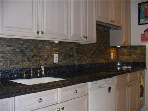 Blue Pearl Granite Backsplash by 13 Best Images About Kitchen Ideas On