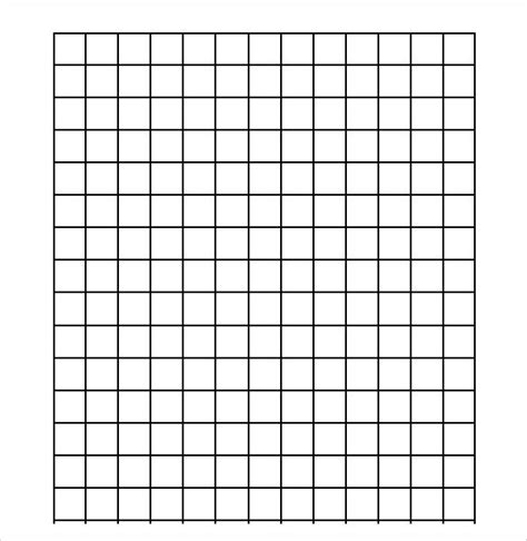 printable grid paper half inch sle half inch graph paper 6 documents in pdf word