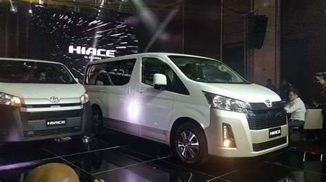Toyota Hiace 2019 by 2019 Toyota Hiace Engines Specs Features