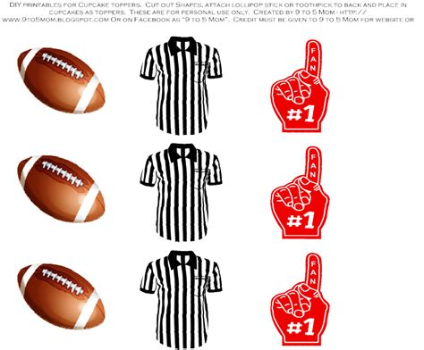 Free Printable Football Cutouts