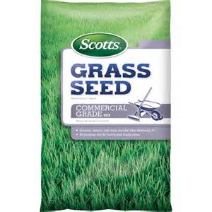 scotts grass seed commercial grade mix 7 lbs walmart com