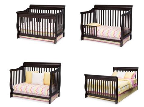 Delta Canton 4 In 1 Convertible Crib Espresso Cherry Delta Children Canton 4 In 1 Convertible Crib Espresso Cherry Baby